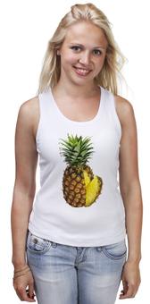 "Майка классическая ""ананас"" - pineapple, ананас, фрукт"