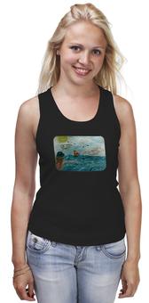 "Майка классическая ""Море. Облака. Парус."" - море, чайки"