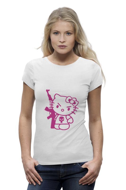 Printio Hello kitty ak-47 футболка wearcraft premium slim fit printio hello kitty ak 47