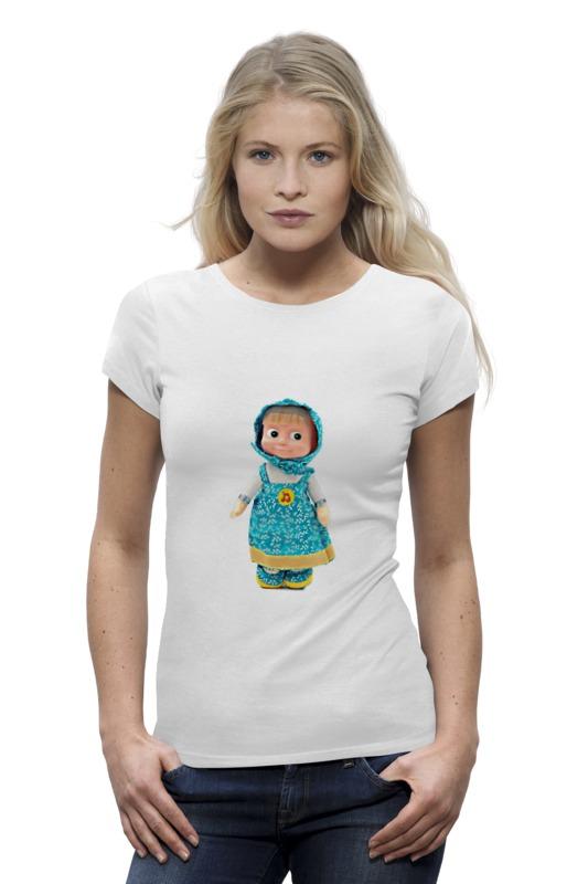 Футболка Wearcraft Premium Printio Кукла маша из мульта. смешная озорная. . футболка wearcraft premium printio кукла девочка маша из мульта смешная озорная