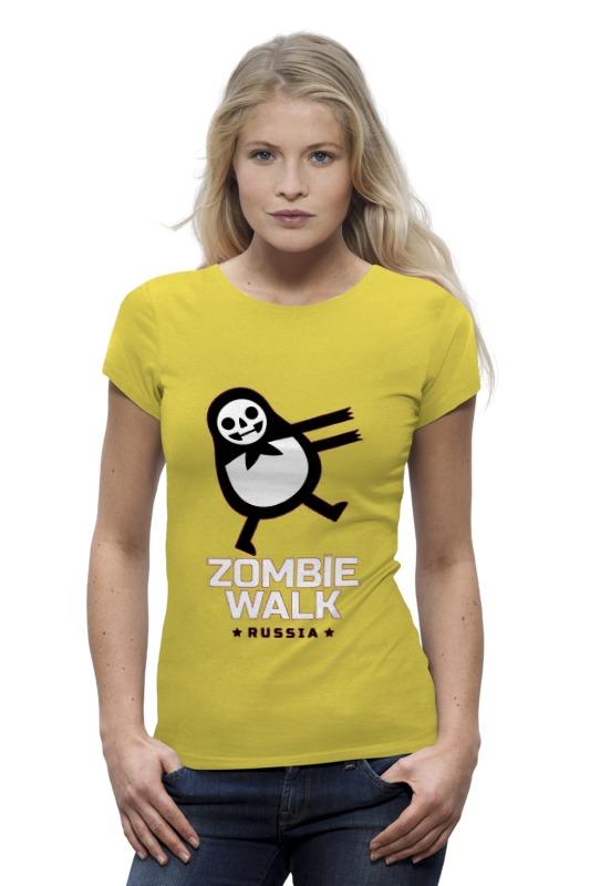 Футболка Wearcraft Premium Printio Zombie walk - russia цены онлайн