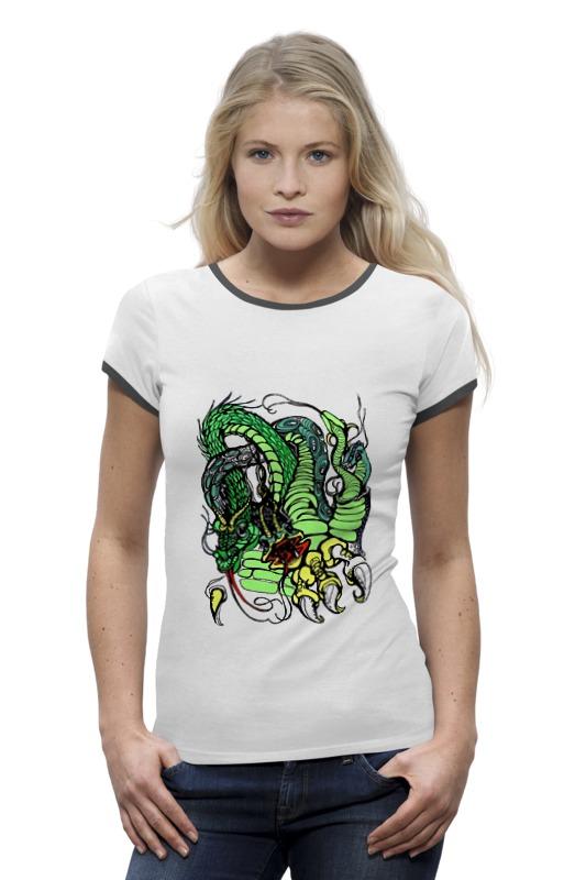 Футболка Wearcraft Premium Printio Змей горыныч зелёный футболка wearcraft premium printio китайский дракон