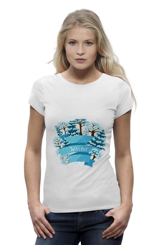 Printio Зимняя футболка wearcraft premium printio зимняя прогулка