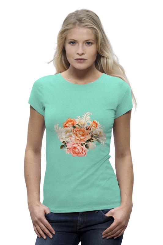 Футболка Wearcraft Premium Printio Чайная роза беверли дж патни м харбо к и др чаша роз ворон и роза белая роза шотландии английская роза мисс темплар и святой грааль вечная роза