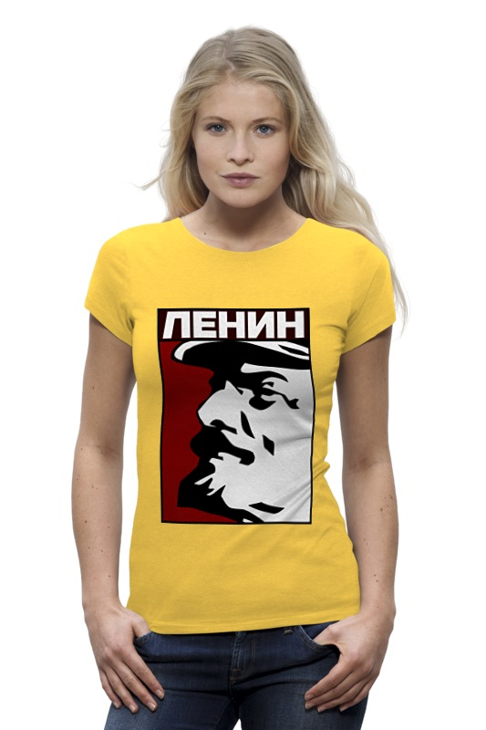 Футболка Wearcraft Premium Printio Ленин коммунист