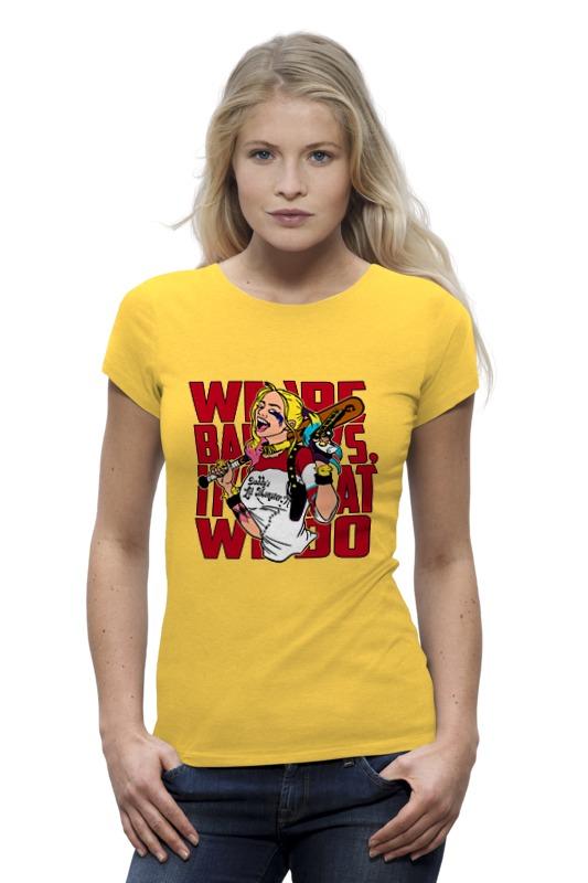 Футболка Wearcraft Premium Printio Харли квинн футболка харли квинн