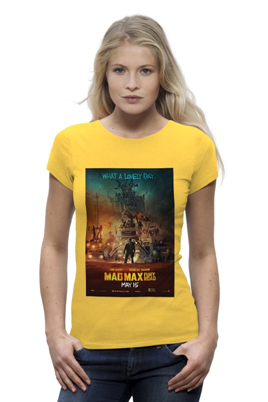 Футболка Wearcraft Premium Printio Mad max / безумный макс футболка wearcraft premium printio безумный макс mad max
