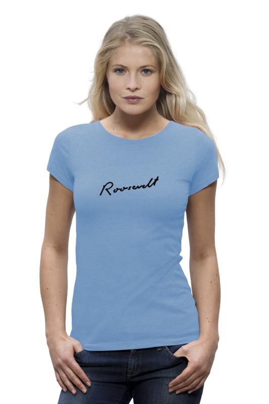Футболка Wearcraft Premium Printio Roosevelt blue t-shirt цена
