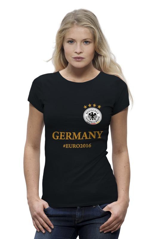 Футболка Wearcraft Premium Printio Сборная германии по футболу евро 2016 футболка wearcraft premium printio болеем за наших