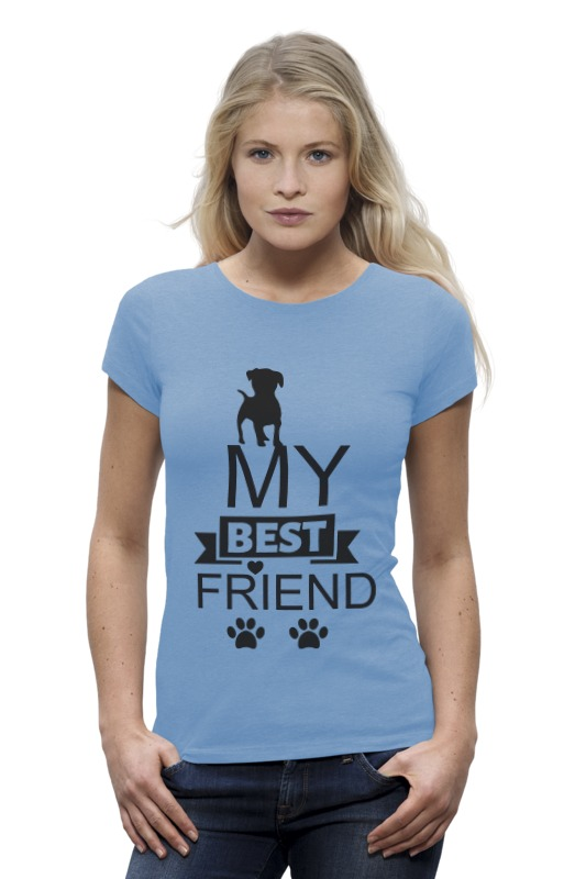 Футболка Wearcraft Premium Printio My best friend bosch my friend mix 20