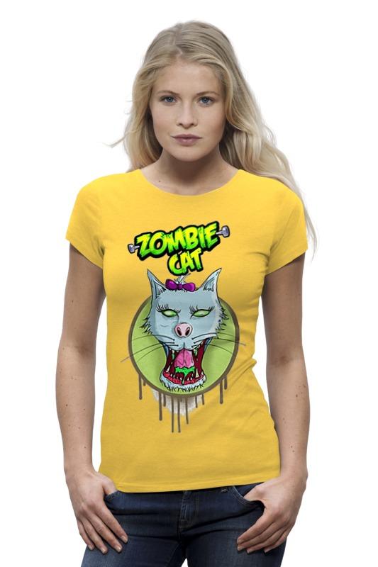 Футболка Wearcraft Premium Printio Zombie cat