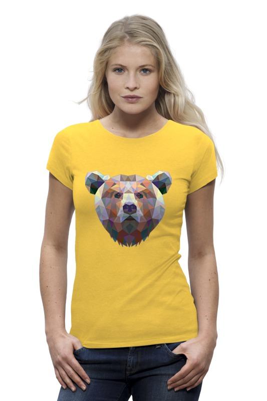 Футболка Wearcraft Premium Printio Полигональный медведь футболка wearcraft premium printio кит ричардс