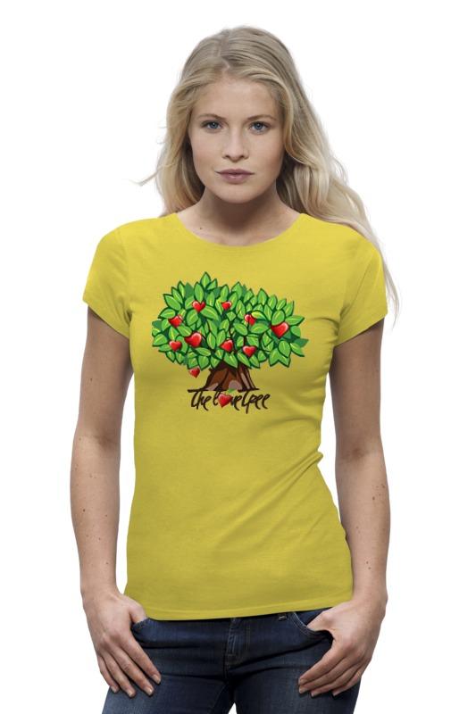 Футболка Wearcraft Premium Printio Icalistini the love tree дерево любви cartoon tree duvet cover set