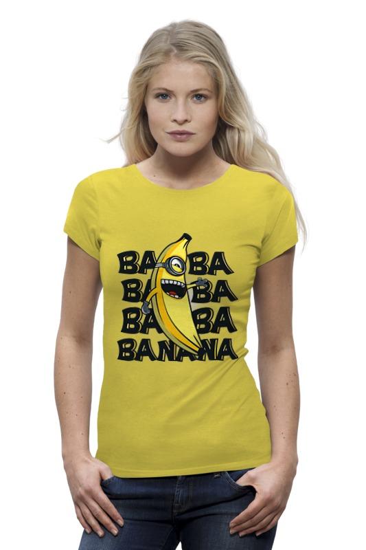Футболка Wearcraft Premium Printio Ba ba banana ampeg ba 108v2