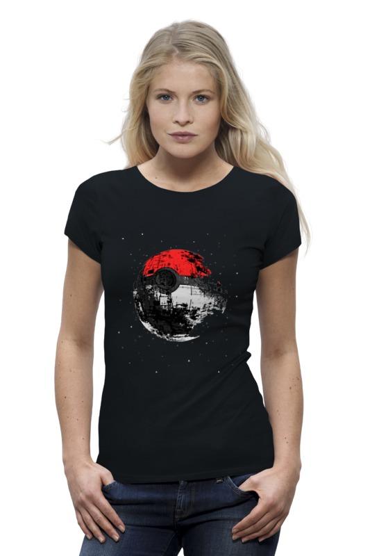 Футболка Wearcraft Premium Printio Покебол - звезда смерти футболка wearcraft premium printio луна звезда смерти