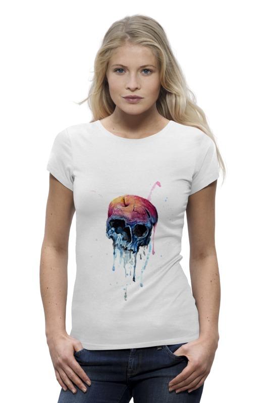 Printio Bleeding skull цена и фото