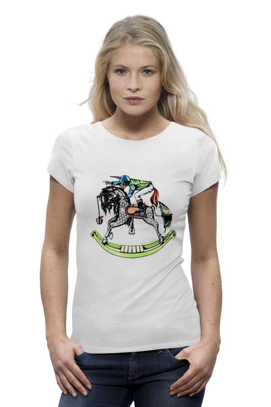 Футболка Wearcraft Premium Printio Обезьяна на коне футболка рингер printio королева обезьяна