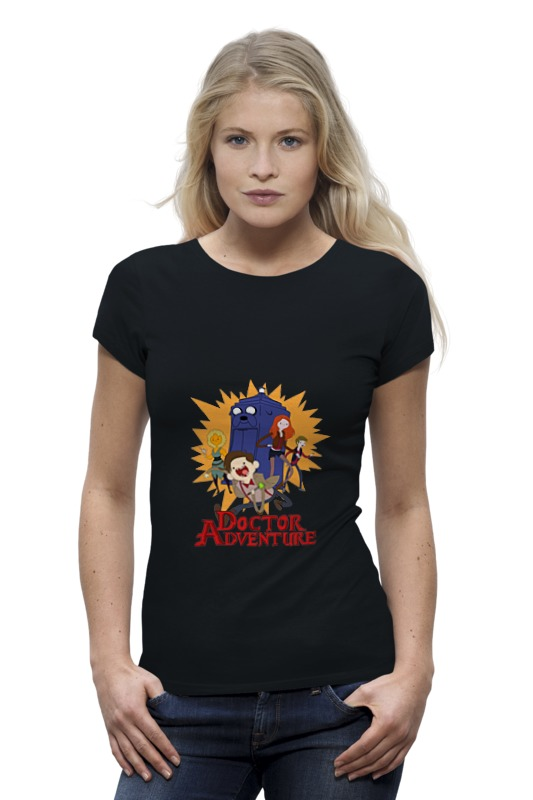 Футболка Wearcraft Premium Printio Doctor adventure time лонгслив printio adventure time x doctor who