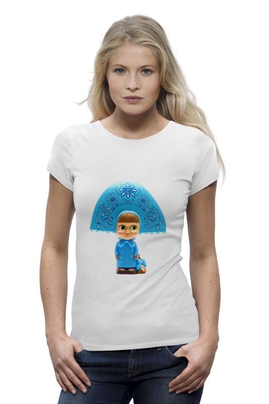 Футболка Wearcraft Premium Printio Кукла-девочка маша из мульта. смешная озорная футболка wearcraft premium printio кукла девочка маша из мульта смешная озорная
