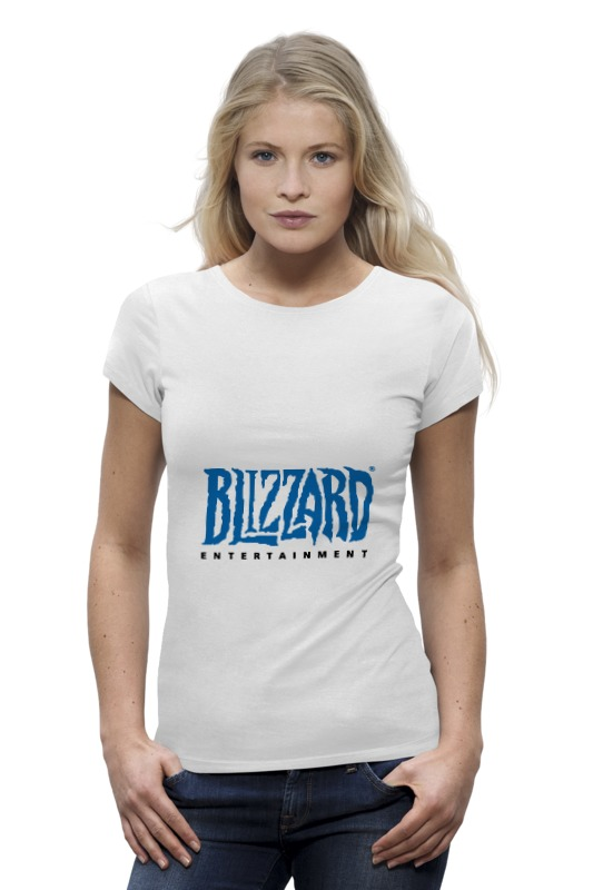Футболка Wearcraft Premium Printio Blizzard тюбинг prosport blizzard 110cm