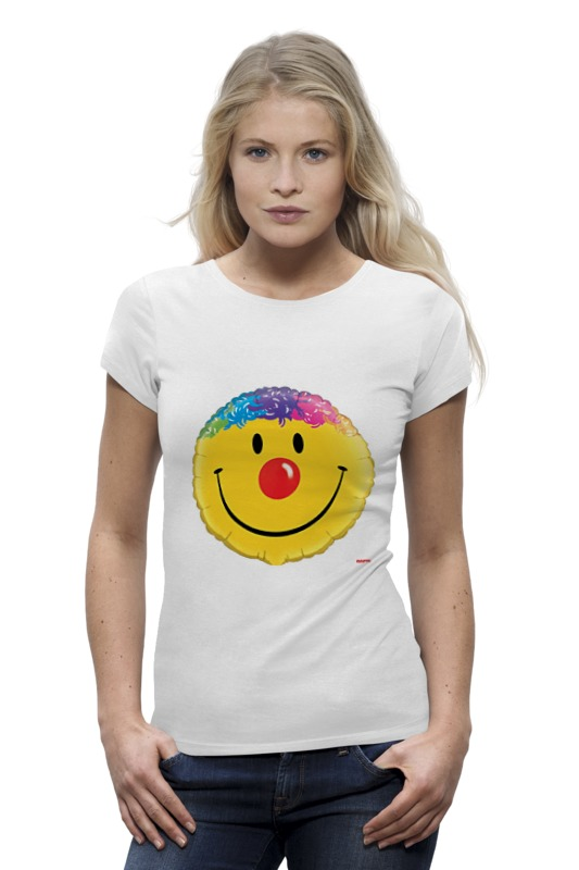 Printio Колобок улыбающийся. смех радость. smile футболка классическая printio колобок улыбающийся смех радость smile