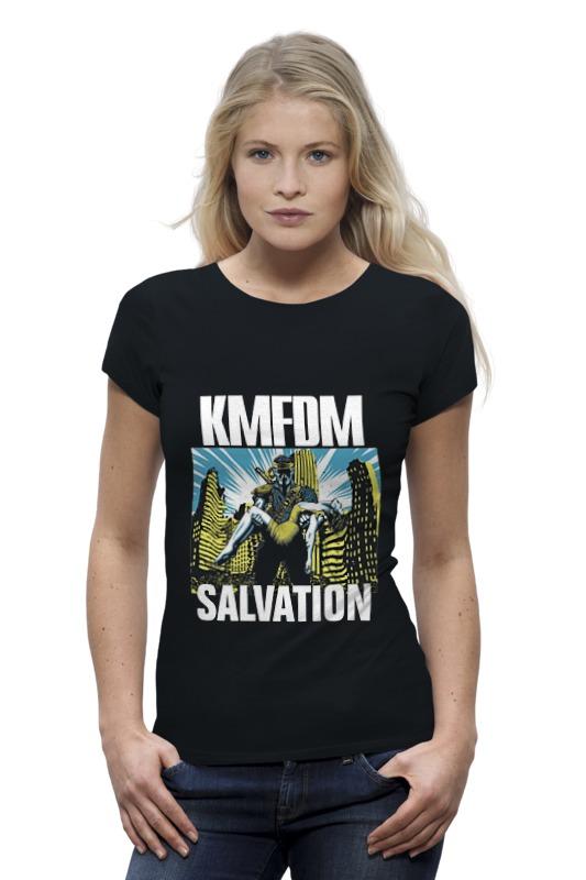 Футболка Wearcraft Premium Printio Kmfdm salvation