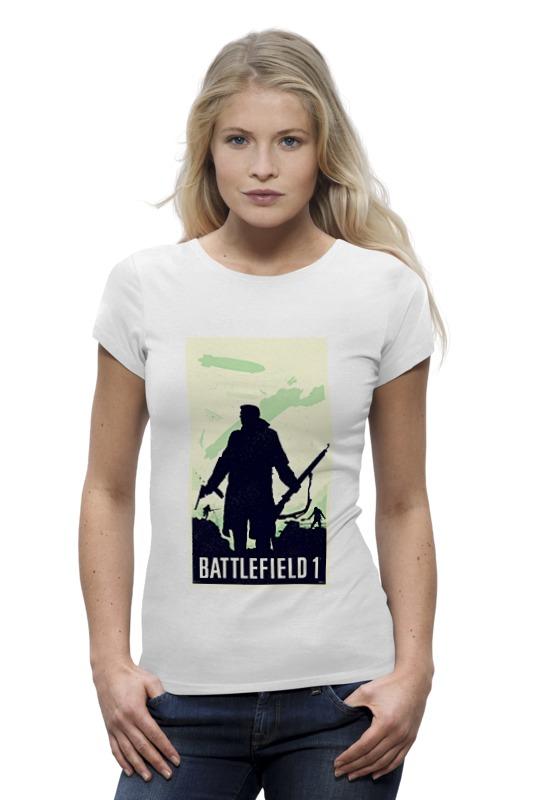 Футболка Wearcraft Premium Printio Battlefield 1 цена 2017