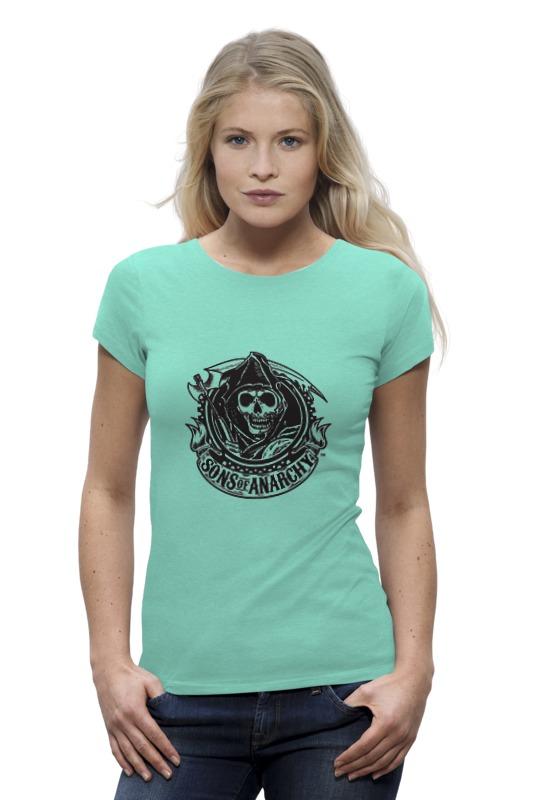 Футболка Wearcraft Premium Printio Sons of anarchy logo футболка wearcraft premium printio сыны анархии