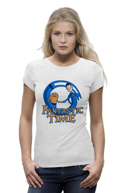 Футболка Wearcraft Premium Printio Время приключений (фантастическая четвёрка) футболка стрэйч printio фантастическая четвёрка fantastic four