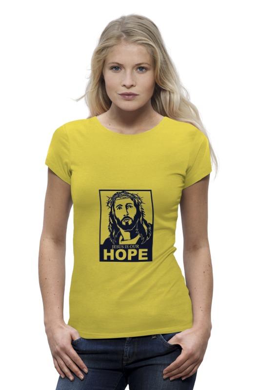 Футболка Wearcraft Premium Printio Иисус - наша надежда надежда дмитриевна гуськова основы