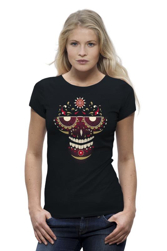 Футболка Wearcraft Premium Printio Skull color футболка wearcraft premium printio кит ричардс