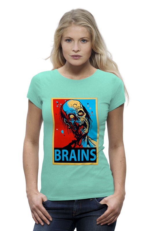 Футболка Wearcraft Premium Printio Мозги (brains) broken brains