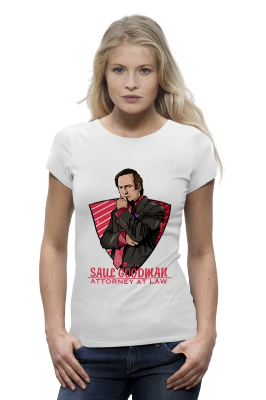 Футболка Wearcraft Premium Printio Saul goodman (better call saul) saul s fall