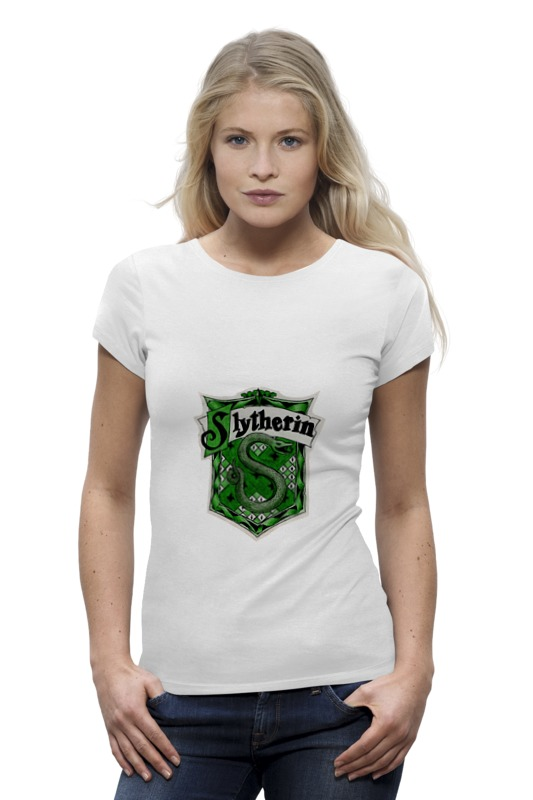 Футболка Wearcraft Premium Printio Slytherin quidditch team