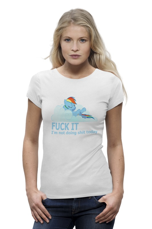 Футболка Wearcraft Premium Printio Rainbow dash футболка wearcraft premium printio rainbow dash loyalty