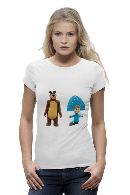 Футболка Wearcraft Premium Printio Кукла-девочка маша и миша. смешные озорные футболка классическая printio кукла девочка маша и миша смешные озорные