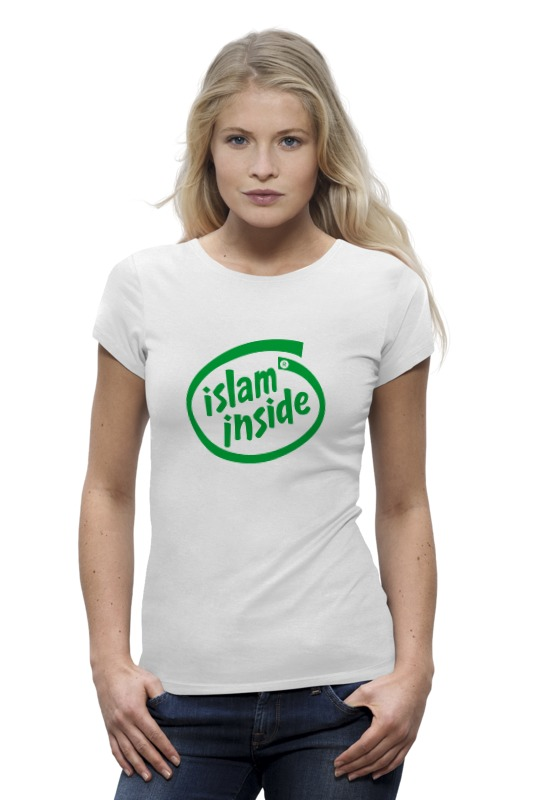 Футболка Wearcraft Premium Printio Ислам внутри zamzam zamzam люблю ислам