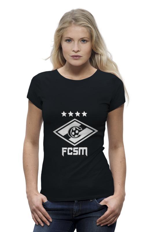 Футболка Wearcraft Premium Printio Fcsm ч/б майка классическая printio fcsm ч б