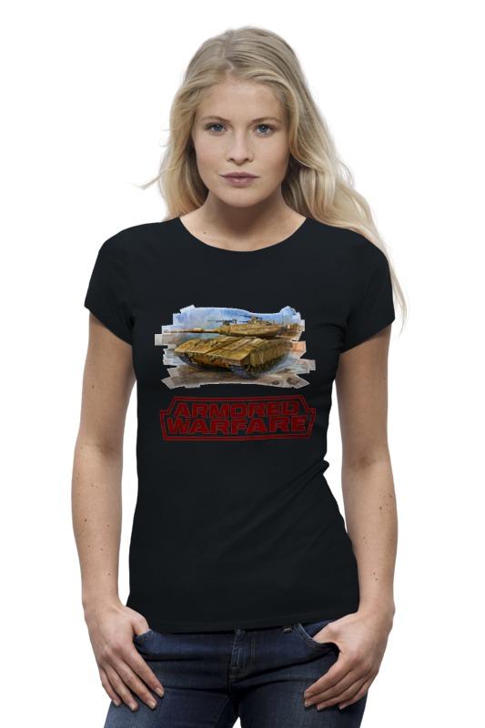 Футболка Wearcraft Premium Printio Armored warfare футболка print bar modern warfare 2