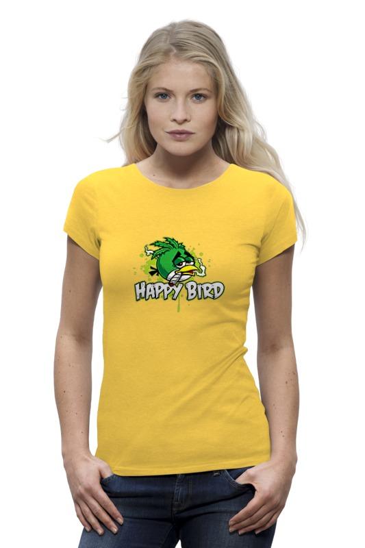 Футболка Wearcraft Premium Printio Happy bird футболка wearcraft premium printio bird