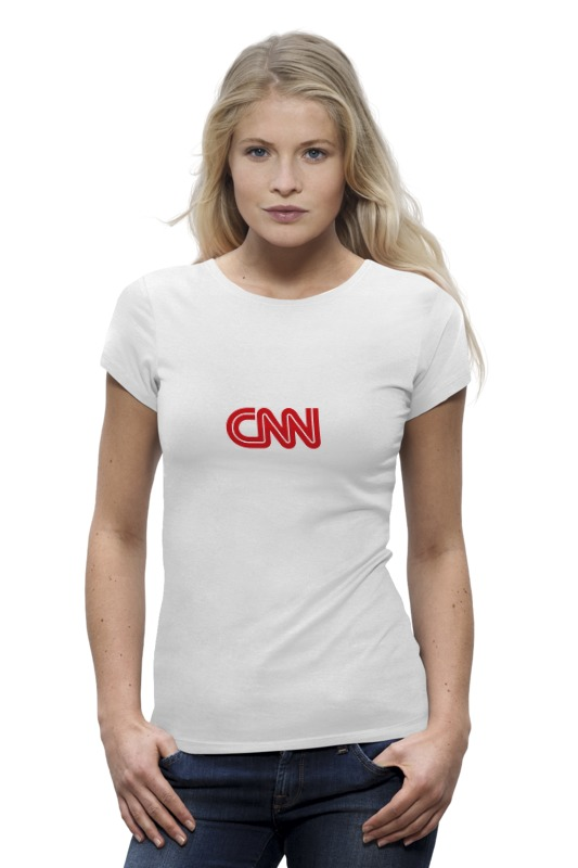 Футболка Wearcraft Premium Printio Cnn (cable news network) футболка wearcraft premium slim fit printio cnn cable news network