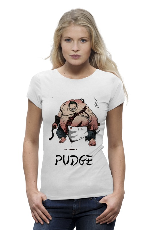 Футболка Wearcraft Premium Printio Dota 2 pudge samurai футболка wearcraft premium slim fit printio dota 2 pudge samurai