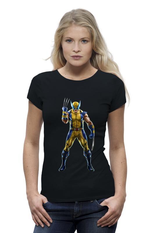 Футболка Wearcraft Premium Printio Wolverine / росомаха футболка wearcraft premium printio россия украина