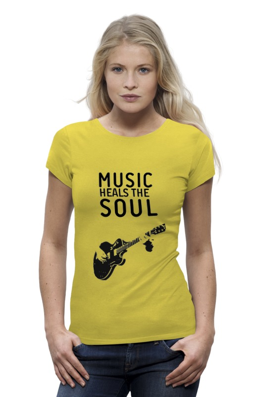 Футболка Wearcraft Premium Printio Music heals the soul 16 soul music