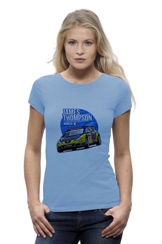 Футболка Wearcraft Premium Printio Jemes thompson футболка для беременных printio hunter s thompson cat