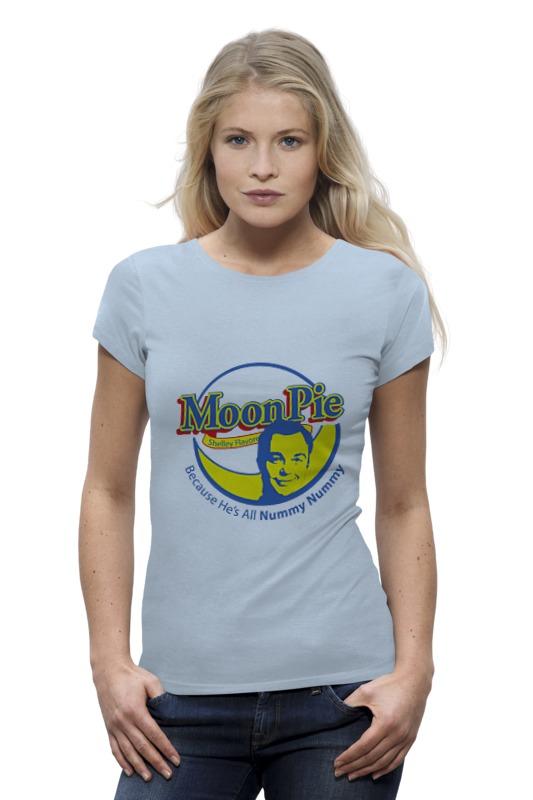 Футболка Wearcraft Premium Printio Шелдон купер (moon pie) футболка стрэйч printio шелдон купер moon pie