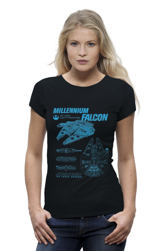 Футболка Wearcraft Premium Printio Тысячелетний сокол футболка wearcraft premium printio кит ричардс