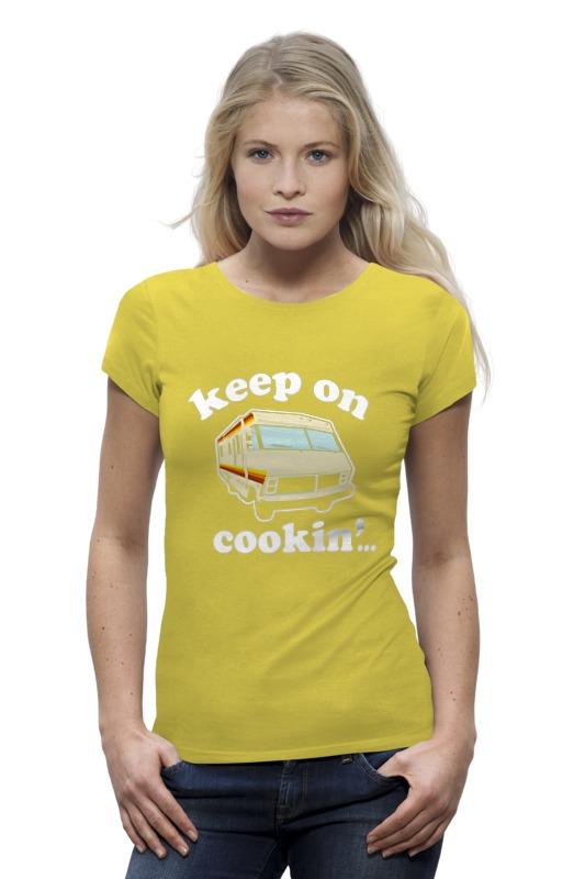 Футболка Wearcraft Premium Printio Keep on cookin (breaking bad) футболка wearcraft premium printio keep calm