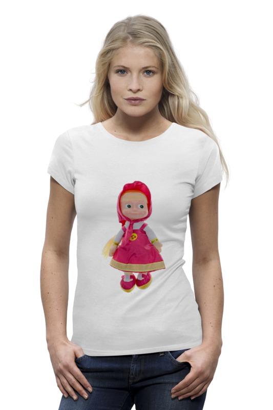 Футболка Wearcraft Premium Printio Кукла-девочка маша из мульта. смешная озорная. кукла yako m6579 6