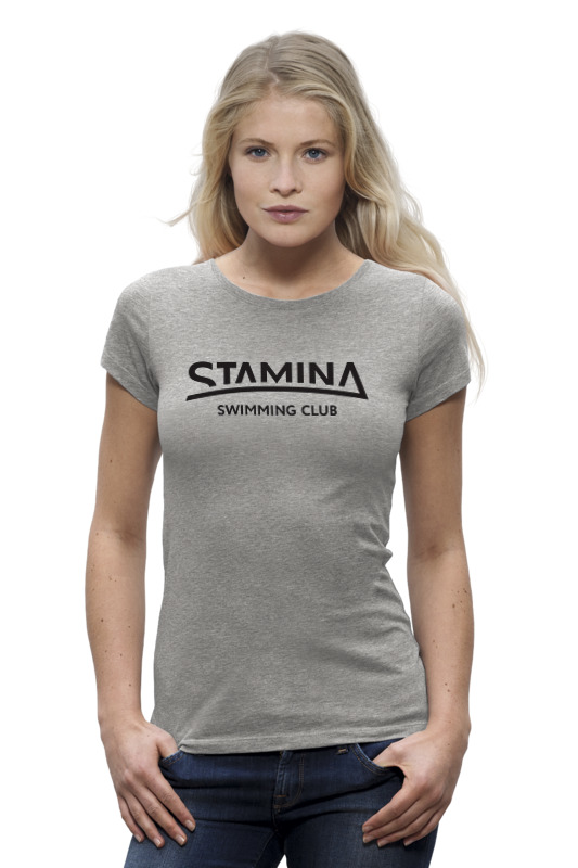 Футболка Wearcraft Premium Printio Stamina tshirt grey женская футболка 2015new mikeal] 2015 t batwing tshirt camisetas 2015tt